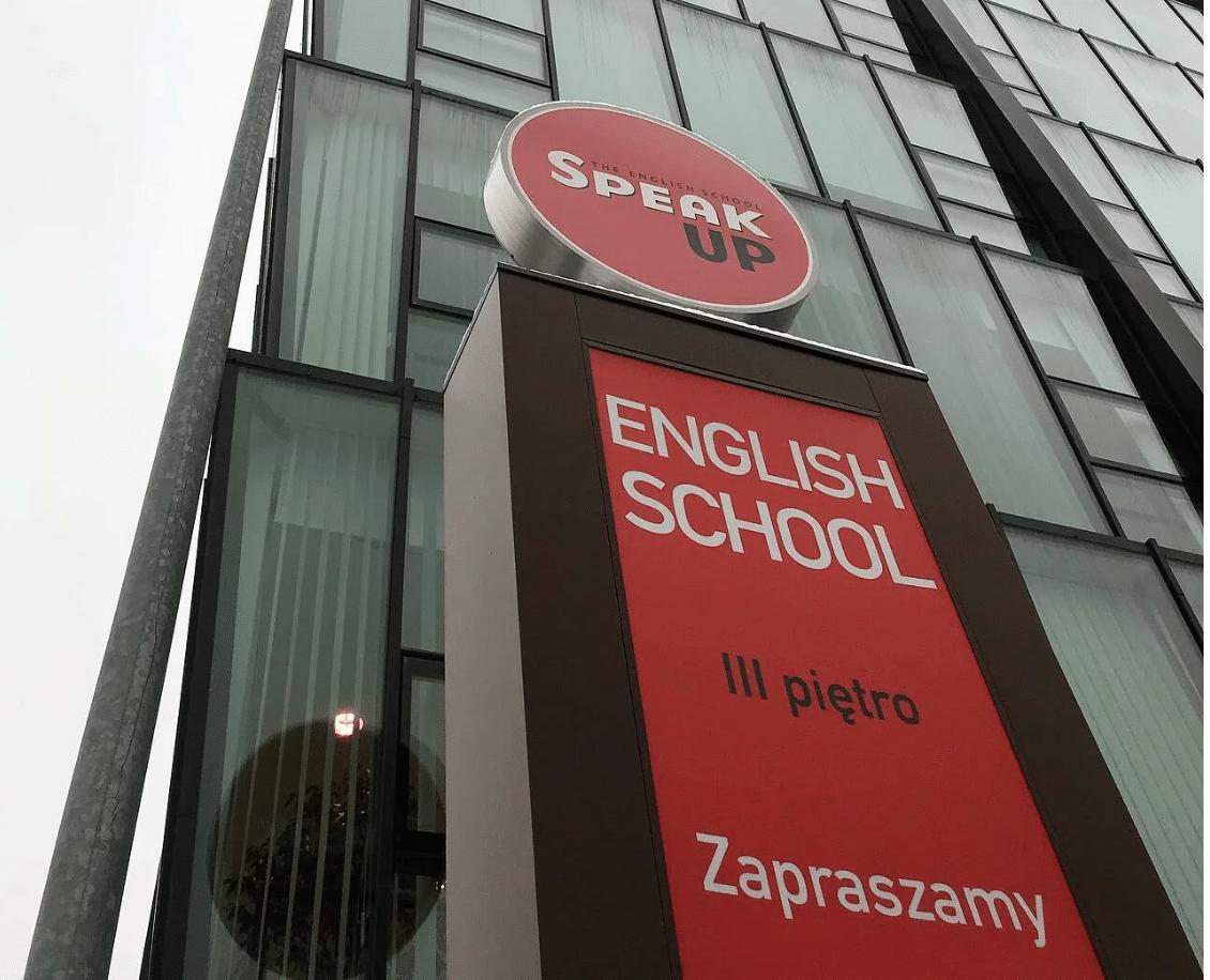SpeakUp szkoła
